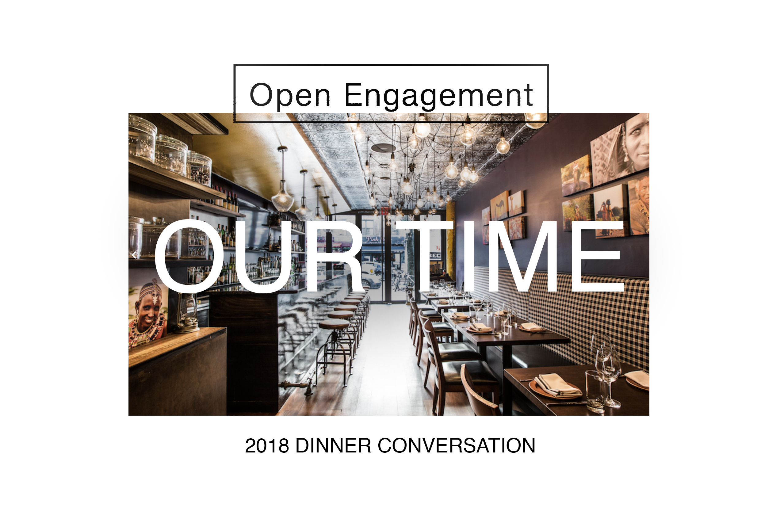 Open Engagement 2018